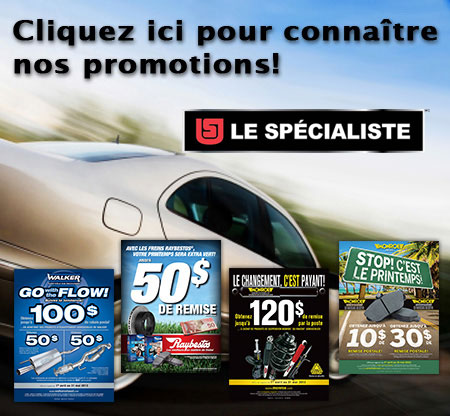 promotions automobiles